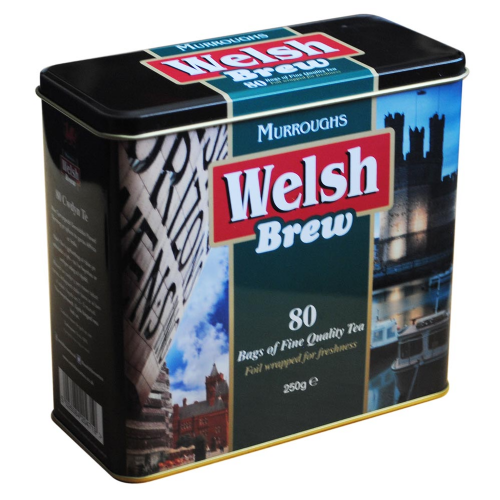 Welsh Brew Tea Caddy